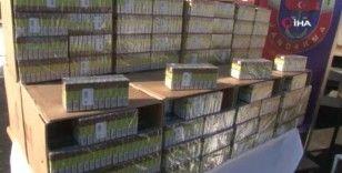Jandarmadan operasyon: 8 milyon lira değerinde kaçak puro ele geçirildi