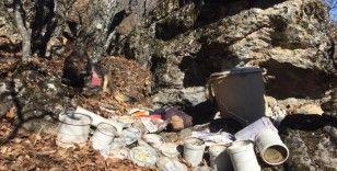 'Eren-7 Mercan Munzur Operasyonu'nda teröristlerce kullanılan 2 sığınak imha edildi