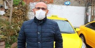 Kovid-19'u yenen taksi şoförü Baran: İnsanın öleceğini düşünüp eşiyle vedalaşması çok zor geliyor