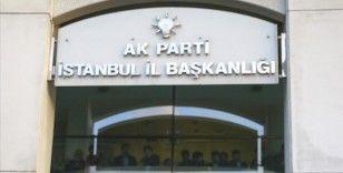AK Parti İstanbul İl Başkanlığı'nda istişare toplantısı yapıldı