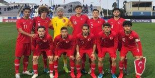U19 Milli Takımı'nın hazırlık kampı aday kadrosu açıklandı