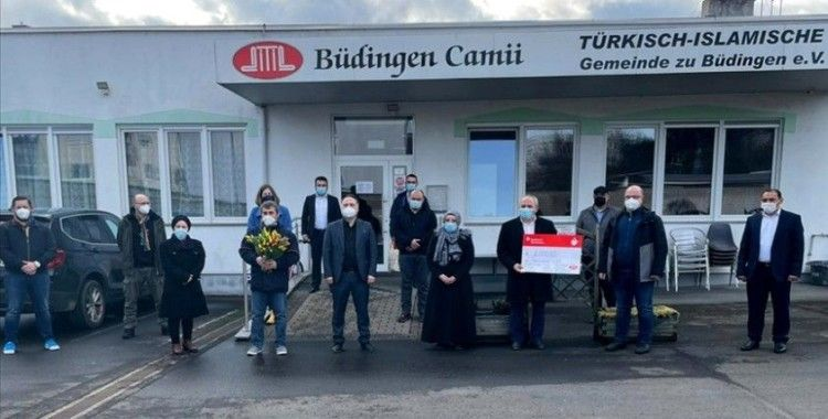 Almanya'da DİTİB camilerine bağlı derneklerden selde zarar görenlere yardım