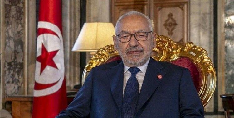 Gannuşi, Tunus'taki kabine krizinde ara buluculuk çağrısını Cumhurbaşkanı'nın yanıtlamadığını söyledi