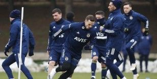 Fenerbahçe Trabzonspor maçı hazırlıklarını sürdürdü