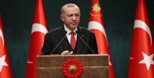 Cumhurbaşkanı Erdoğan: 'Örgüte katılanların sayısında ve eylem kapasitesinde ciddi düşüş yaşanıyor'