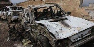 Afrin'de bombalı terör saldırısı: 3 yaralı