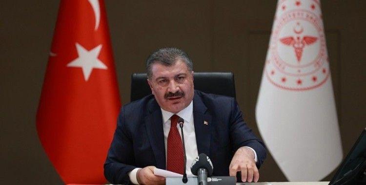 """Bakan Koca: """"Türkiye'de bize özgü yeni bir mutantın olmadığını çok rahatlıkla söyleyebilirim"""""""