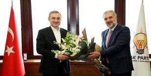 AK Parti İstanbul Teşkilatında devir teslim töreni yapıldı