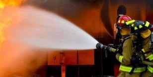 Ağrı'da korkutan yangın