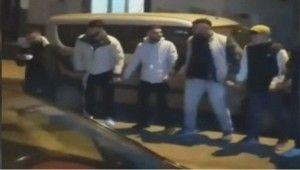 Silahların patladığı asker eğlencesine polis baskını