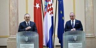 Dışişleri Bakanı Çavuşoğlu: Türkiye-Hırvatistan-Bosna Hersek üçlü mekanizmamızı liderler düzeyine çıkarma kararı aldık