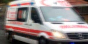 Adıyaman'da araç takla attı:1 yaralı