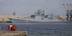 Rus Amiral Grigoroviç fırkateyninin ardından ABD'nin USS Winston S. Churchill destroyeri de Port Sudan'a giriş yaptı