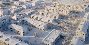 Buz ve karlarla kaplı şehir: Vorkuta