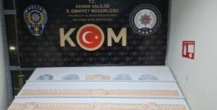 Adana'da 36 bin 150 lira sahte para ele geçirildi