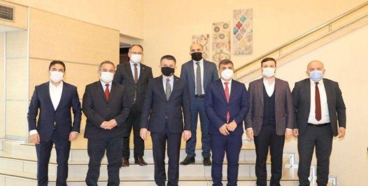 Tarım ve Orman Bakanı Pakdemirli ile Anadolu Yayıncılar Birliği bir araya geldi