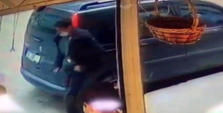 İstanbul'da 13 yaşındaki çocuğu taciz eden şüphelin kaçış anı kamerada