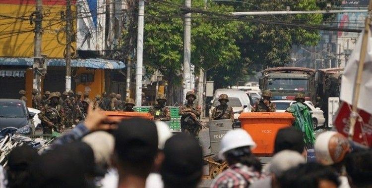 BM: Myanmar ordusu, protestocuları öldürmeyi ve hapse atmayı bırakmak zorunda