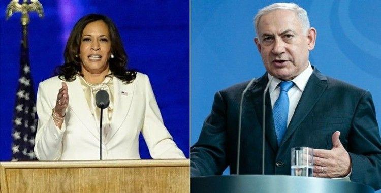 ABD Başkan Yardımcısı Harris ve İsrail Başbakanı Netanyahu telefonda görüştü