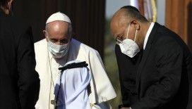 Papa Franciscus: Irak'ın kalkınması ve barışı için uluslararası topluma görev düşüyor