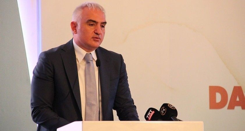 Kültür ve Turizm Bakanı Ersoy: 'Dünya bilgi üzerinden dizayn ediliyor'