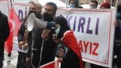 HDP İl Binası önünde 'Evlat Nöbeti' 4'üncü haftasında