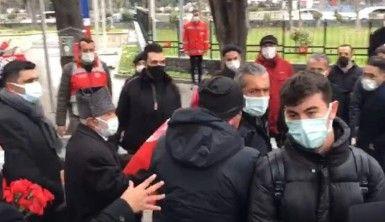 Edirnekapı Şehitliği'nde İmamoğlu'na şok tepki