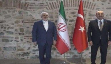 Dışişleri Bakan Çavuşoğlu, İranlı mevkidaşı Zarif ile görüştü