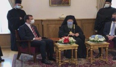 Atina Belediye Başkanı Bakoyannis ve İBB Başkanı İmamoğlu, Fener Rum Patrikhanesi'ni ziyaret etti
