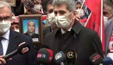 İçişleri Bakan Yardımcısı Muhterem İnce: 'Dünyada evlatlarını istemek gibi başka nasıl masum bir duygu olabilir'