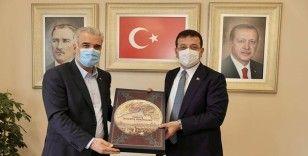 İmamoğlu'ndan AK Parti İstanbul İl Başkanı Kabaktepe'ye ziyaret
