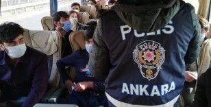 Başkent'te 11 kaçak göçmen yakalandı