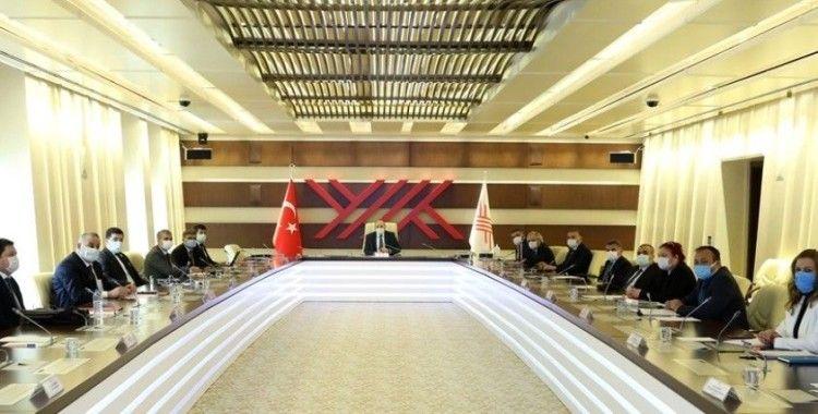 YÖK'te 'Yükseköğretim Eğitim Programları Danışma Kurulu' toplantısı