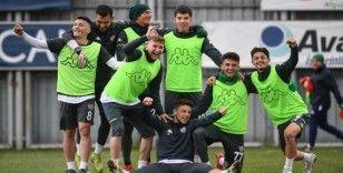 Bursaspor'da Altay maçı öncesi moraller yüksek