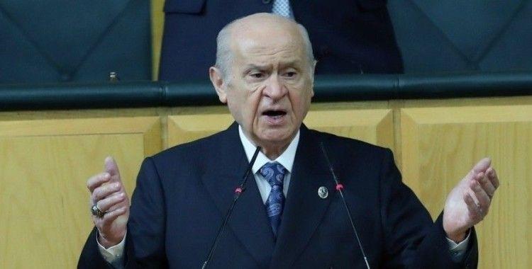 Bahçeli'den Kılıçdaroğlu'na: 'FETÖ ve PKK'yla bütün bağlarını keserek işe başlamalıdır'