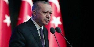Cumhurbaşkanı Erdoğan: Güç birliği yaparak Kıbrıs Türklerini hak ettiği konuma getireceğimize inanıyorum