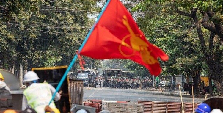 Myanmar'da cunta muhalifi komite, nisanın ilk haftası sivil hükümet kurma çalışmalarını tamamlamayı planlıyor