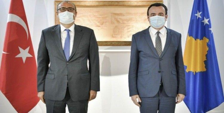 Kosova Başbakanı Kurti, Türk Büyükelçi Sakar'ı kabul etti