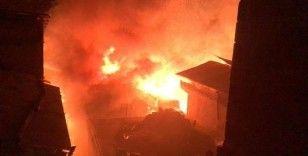 Artvin'de bu kez Ortaköy köyünde yangın çıktı