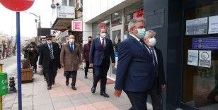 CHP Ekonomi Masası heyeti Çankırı'da iş adamlarıyla bir araya geldi
