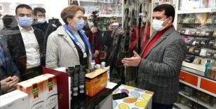 İYİ Parti Genel Başkanı Meral Akşener, Konya'da esnafı ziyaret etti