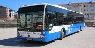 Elazığ Belediyesi toplu taşımalara hafta sonu düzenlemesi getirdi