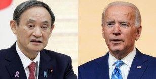 Japonya Başbakanı Suga ve Biden görüşmesinde tarih netleşti