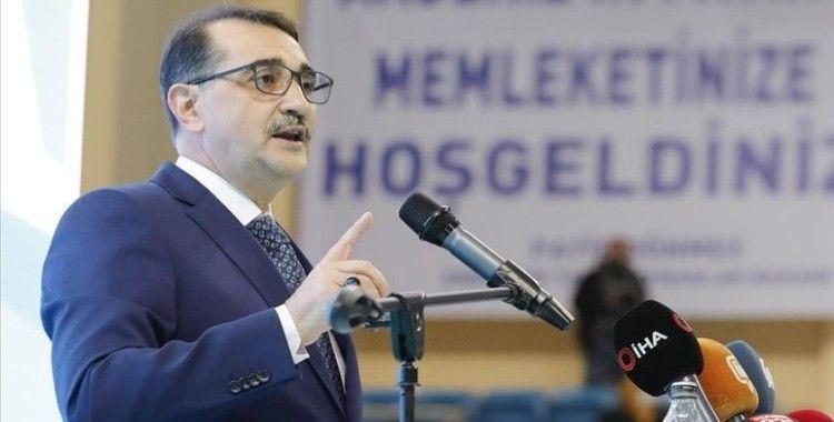 Bakan Dönmez: 'Konya'da 1000 megavatlık tesisin yapımına başladık'