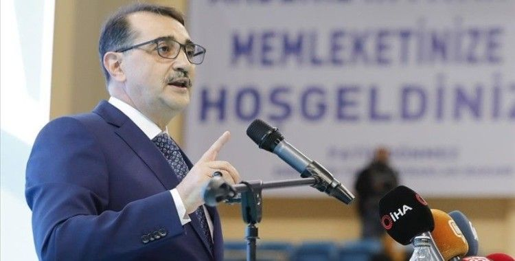 Bakan Dönmez: 'Elektrik ve doğal gazda yatırım hedefimiz 612 milyon lira'