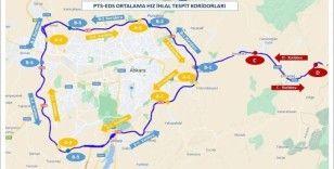 Ankara ili Çevreyolları ile Ankara-Kırıkkale güzergahında 12 hız koridoru oluşturuldu