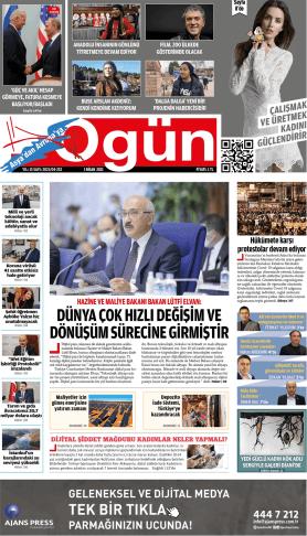 OGÜN Gazetesi Sayı:252