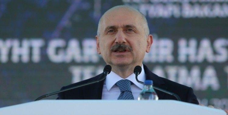 Bakan Karaismailoğlu, Bursa Şehir Hastanesi metro hattının temelini attı
