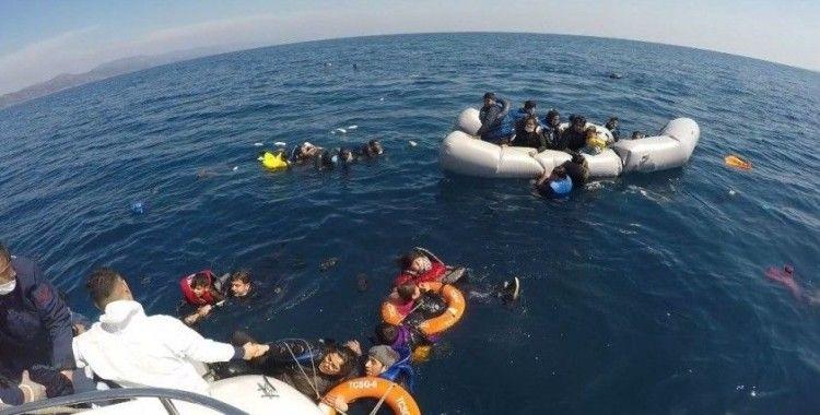 Yunanlıların dövdüğü düzensiz göçmen 'Yaklaşık yarım saat bizi dövdüler'