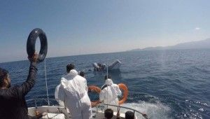 Çanakkale açıklarından 40 düzensiz göçmen, Yunanistan unsurlarınca ölüme terk edildi